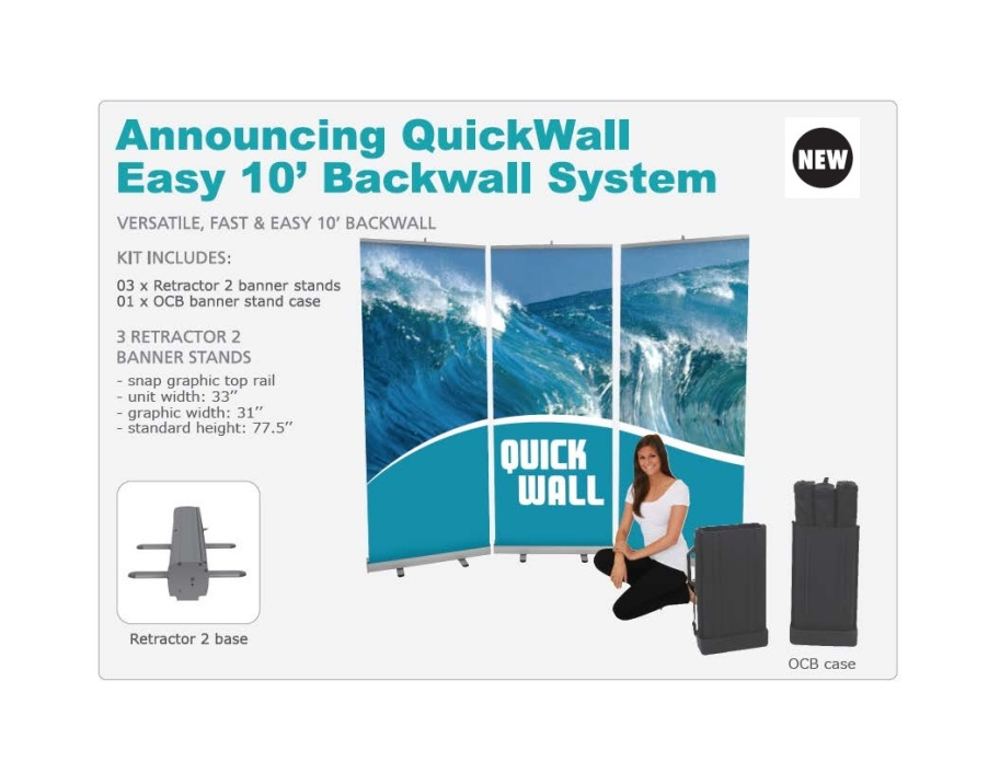 Quickwall Banner Kit